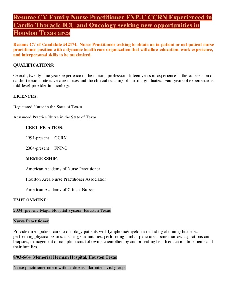 medical surgical nurse resume job description
