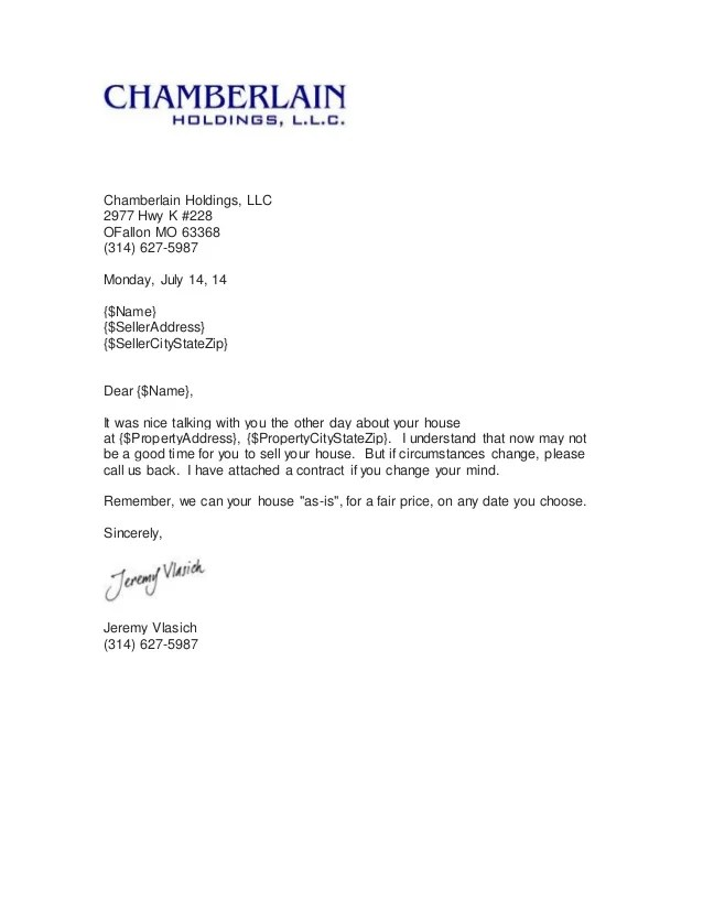 Follow Up Letter Sample Follow Up Letter Format Demo Real Estate Investing Podcast Follow Up Letter