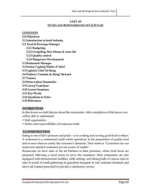 Cover Letter For Job Hospitality | Database Administrator Resume