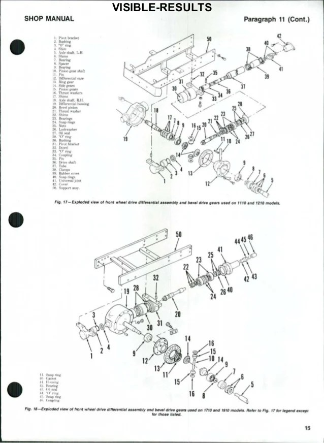 Wiring Diagram PDF: 1710 Ford Tractor Wiring Harness Picture