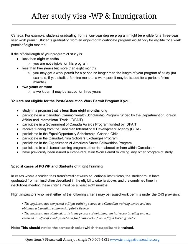 Work Experience Letter For Immigration Canada Resume Pdf Download