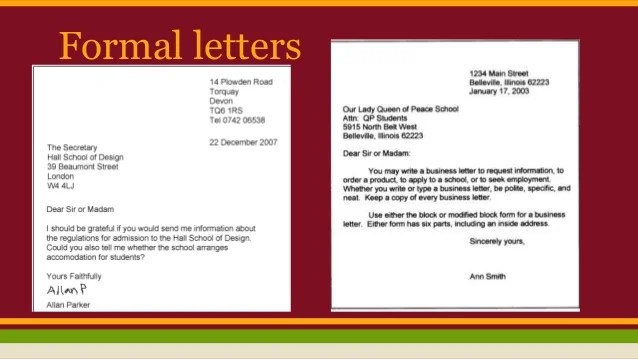 5 Clear And Easy Ways To Format A Letter Wikihow Formal Informal Letters And Emails