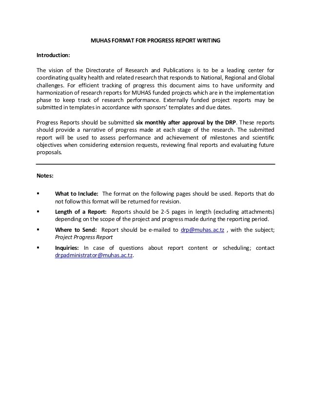 patient progress report sample - Josemulinohouse