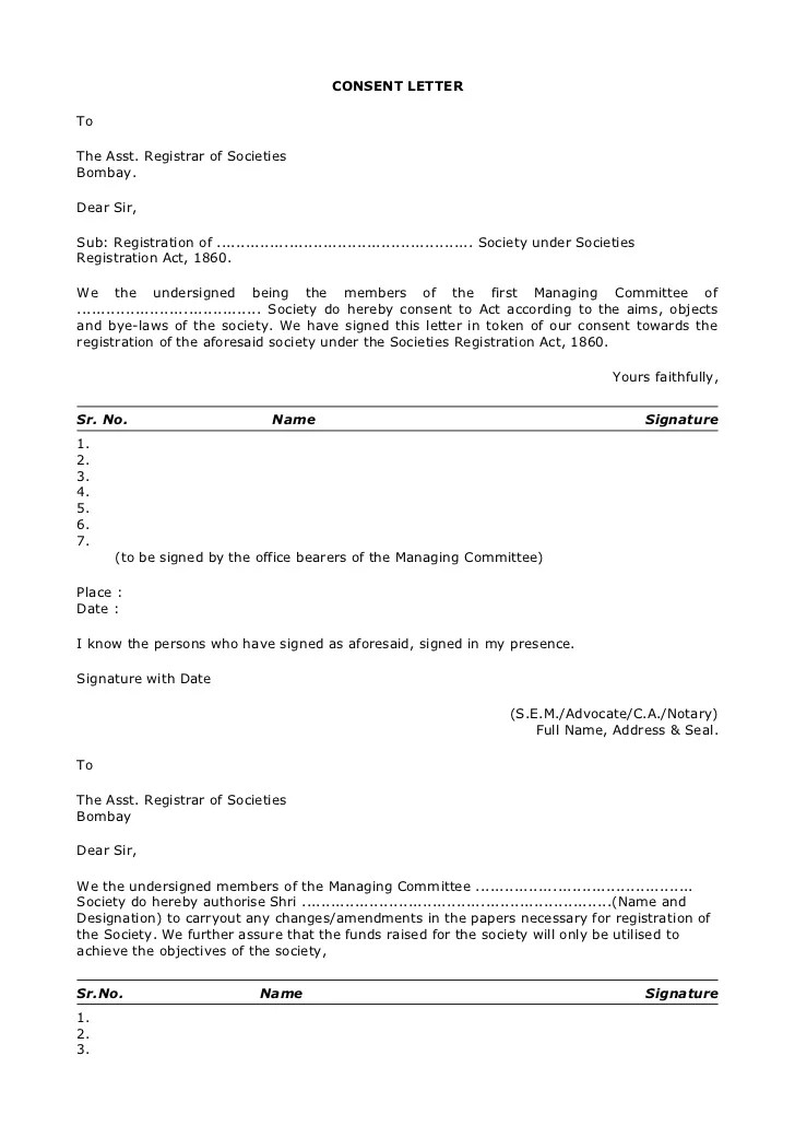 society no objection certificate format - Onwebioinnovate - i have no objection