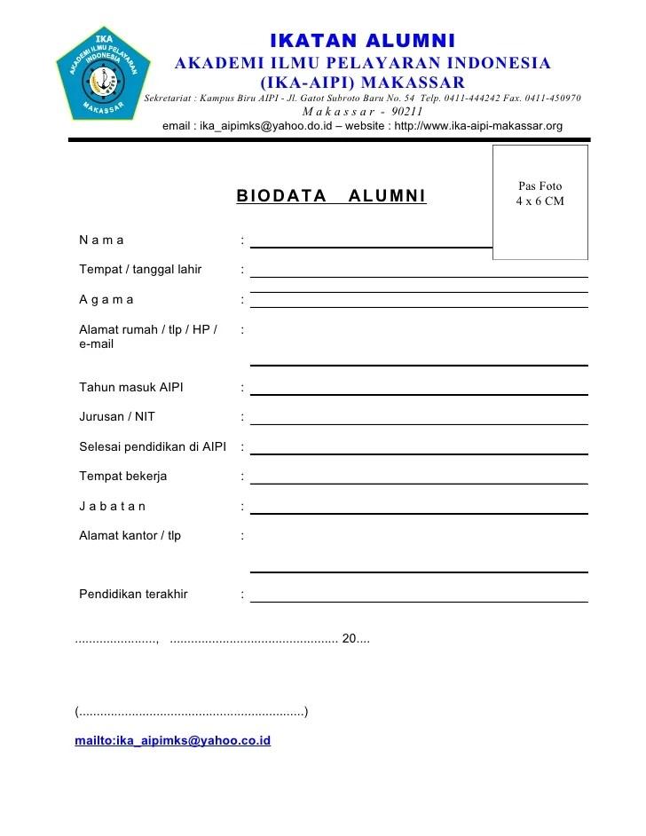 Form Of Biodata Rent Interpretomics Co