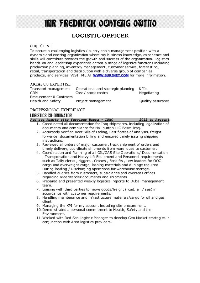 supply chain management cover letter
