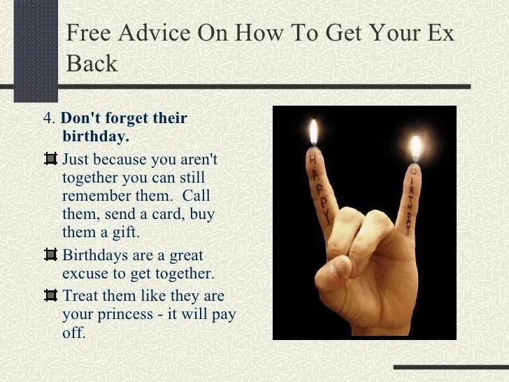 Imgenes De What Do You Get An Ex Boyfriend For His Birthday
