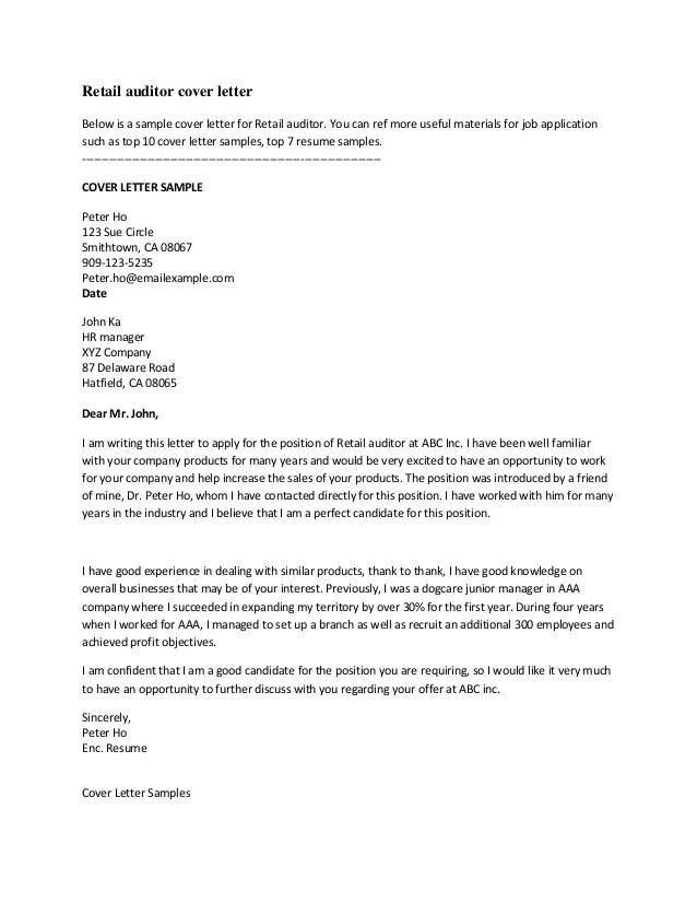 employment cover letter examples free - Josemulinohouse