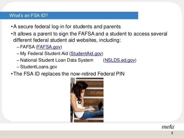 Creating your FSA ID