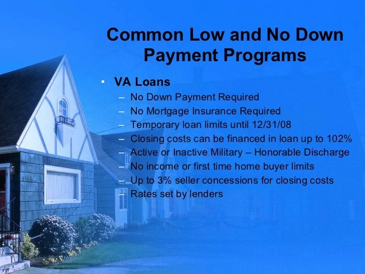 No Down and Low Down Payment home purchase programs for teachers, pub…