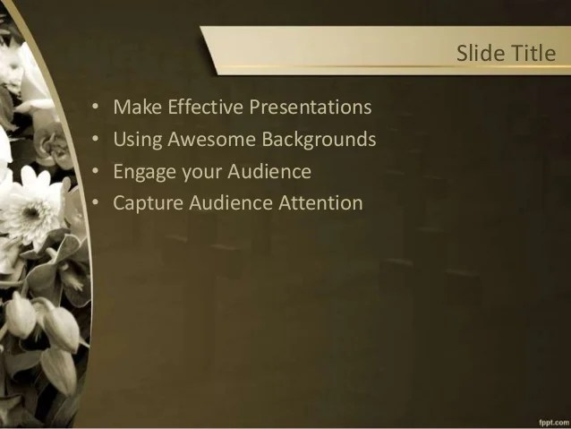 Memorial Powerpoint Templates Free | cvfree.pro