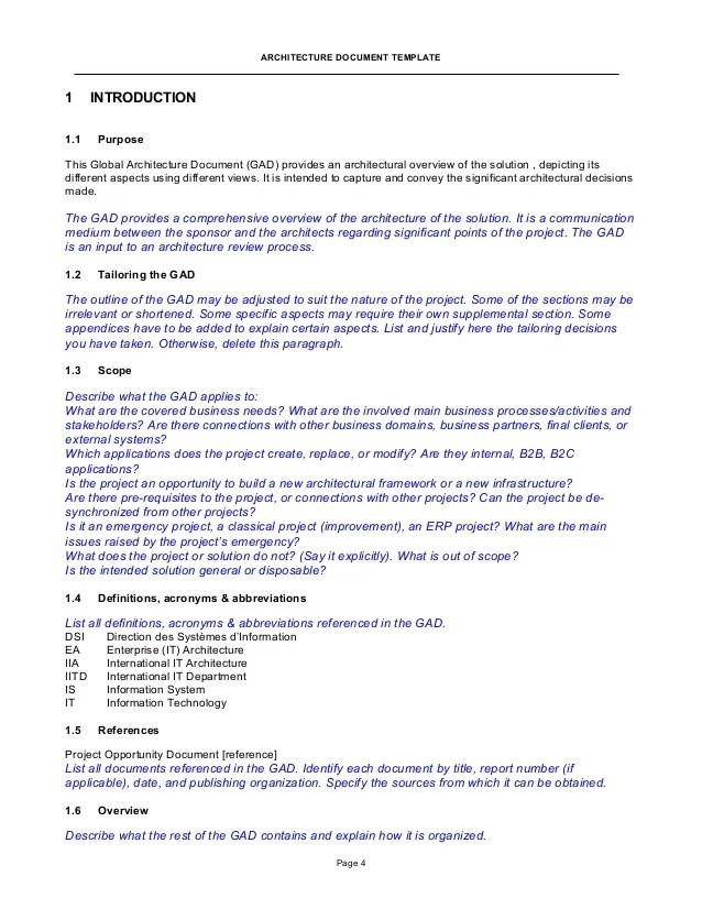 technical document template - Josemulinohouse - software specification template