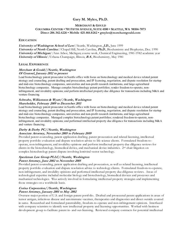 phd resumes - Minimfagency - attorney resume format