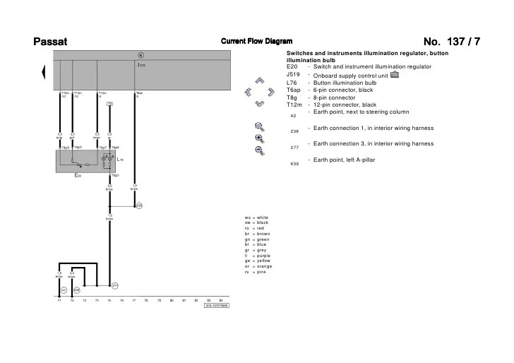 vw passat 3c bixenon wiring diagram