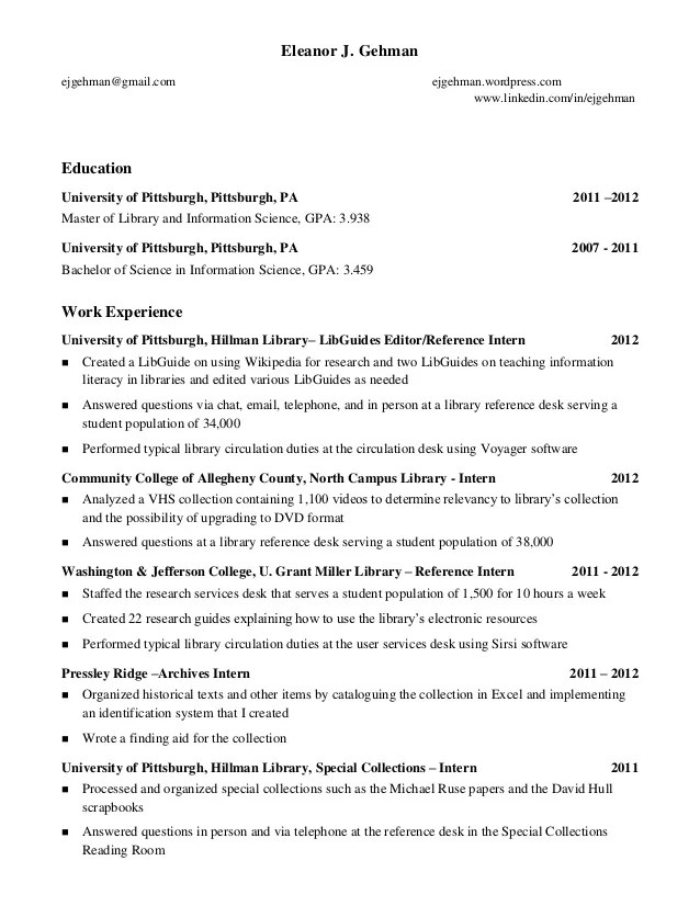 College Graduate Resume Example The Balance Resume