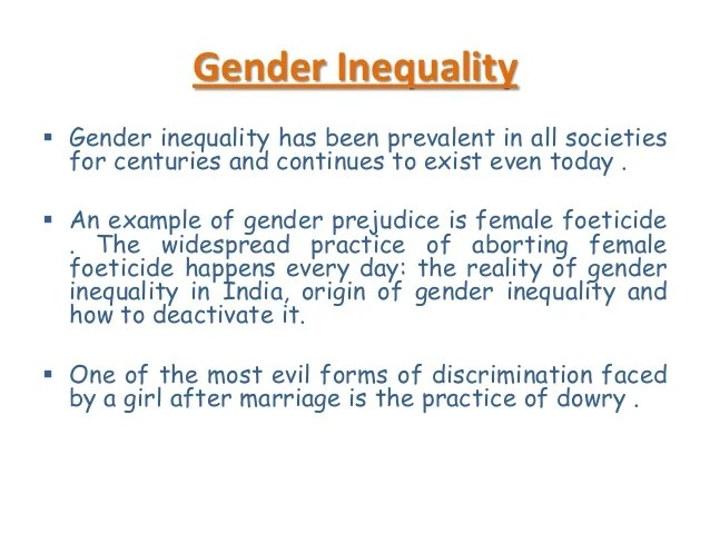 Gender Inequality Essay? - dradgeeport133.web.fc2.com