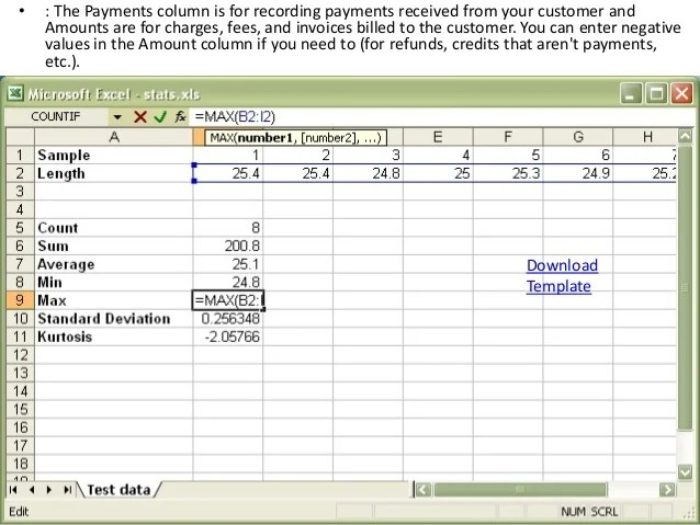 financial ledger template - Intoanysearch
