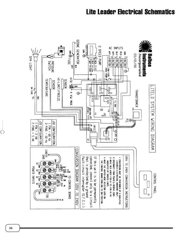 balboa circuit board wiring diagram