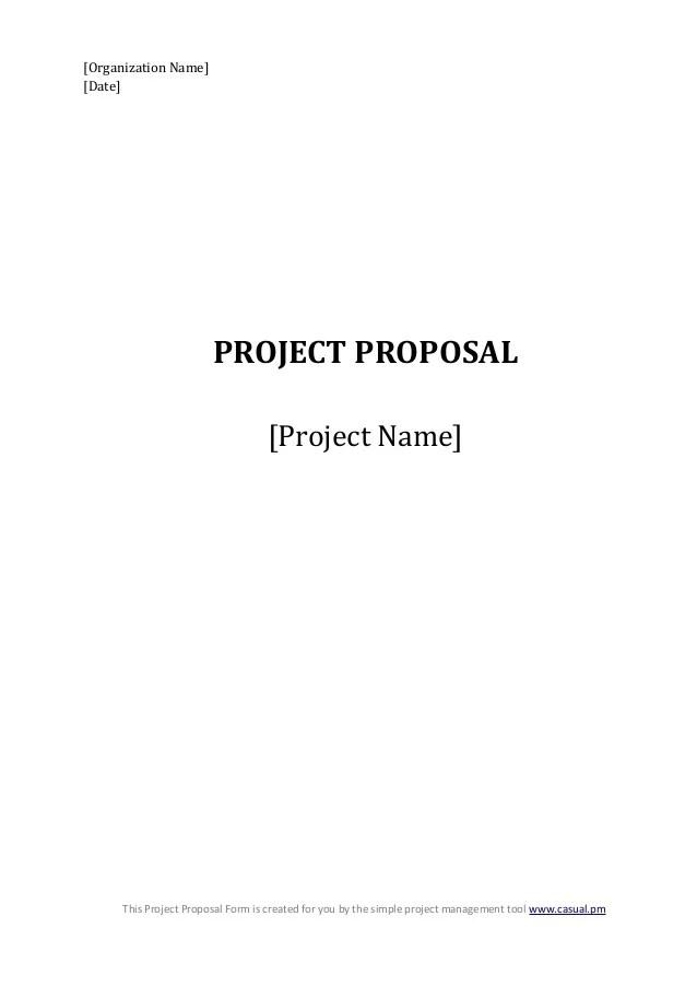 it project proposal sample - Alannoscrapleftbehind