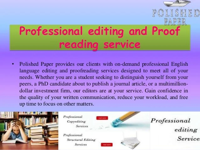 Esl Article Proofreading Websites For College