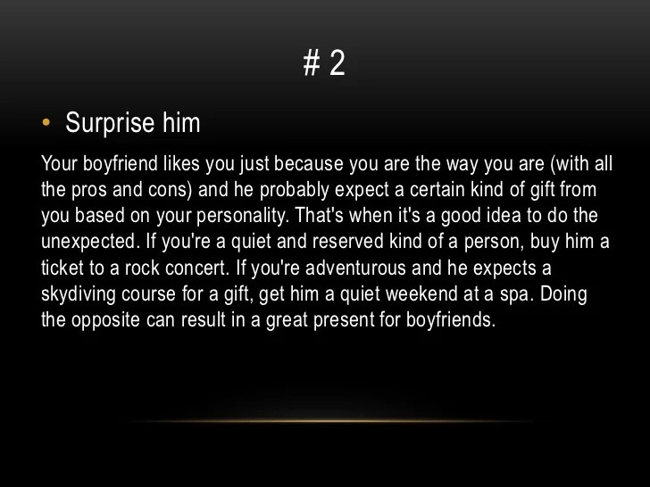 Cute Ideas Source Gift For Your Boyfriend Just Because LTT
