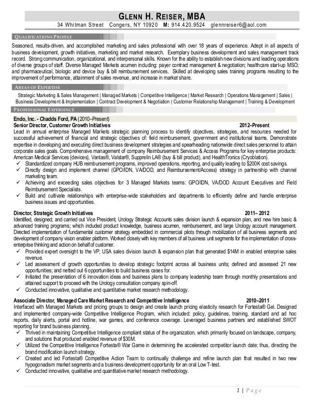 mba resume - Pinarkubkireklamowe