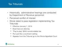 GLGA Illinois Sales Tax Webinar
