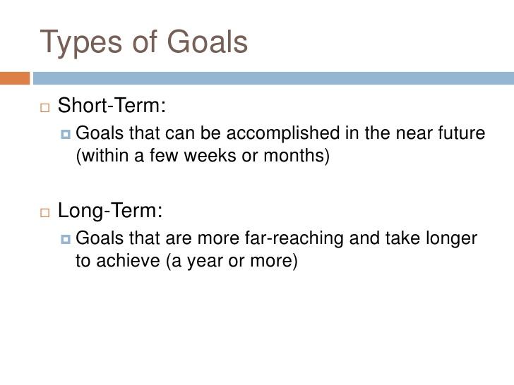 examples long term career goals - thelongwayup.info
