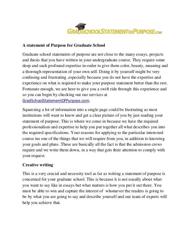 goal statement for graduate school - Ozilalmanoof