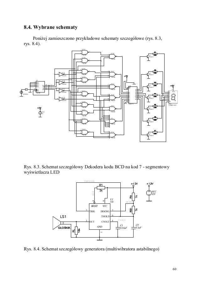 electronic candle circuit using ttl ic