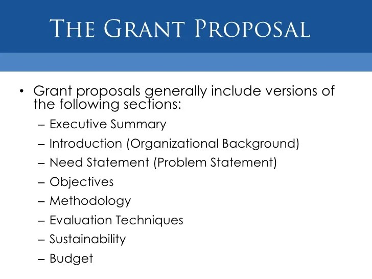 How To Prepare A Grant Proposal Budget For A Nonprofit Grant Funding For Nonprofit Organizations