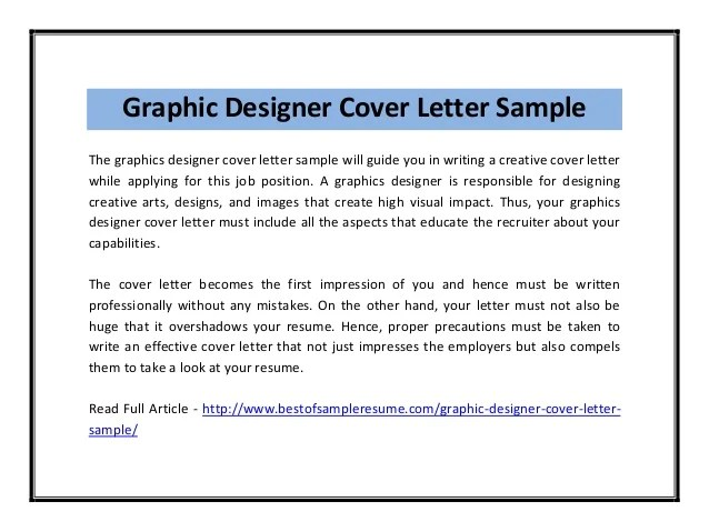 effective cover letter sample