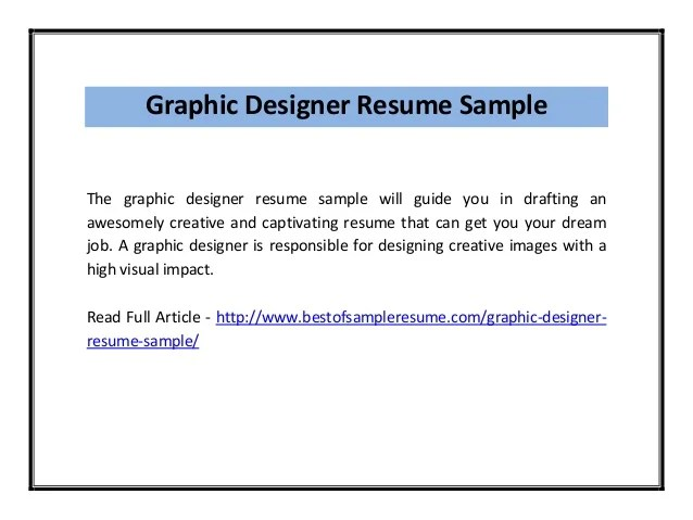 Graphic Design Objective Resume graphic design objective targer