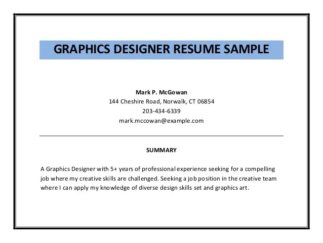 graphic design skills resumes - Onwebioinnovate