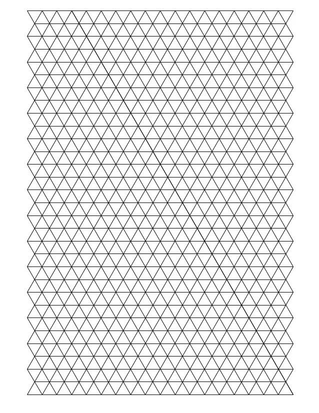 triangle graph paper - Josemulinohouse