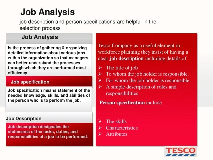 Retail Manager Job Description Targetjobs Recruitment And Selection Process In Tesco
