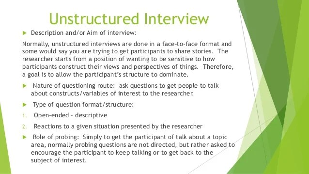 structure interview questions