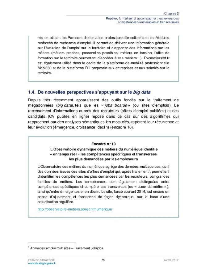 competences organisationnelles cv
