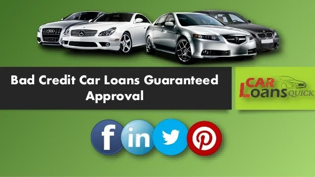 Guaranteed Car Loans With Low Rates Guaranteed Auto Loan .html | Autos Weblog