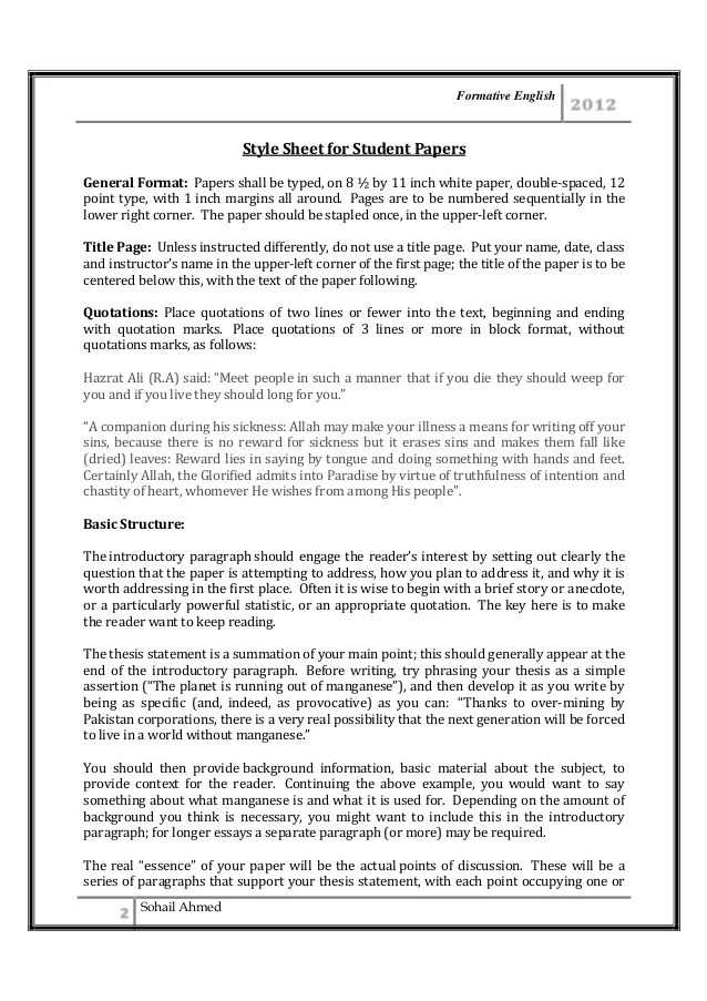Brief Essay Format How Brief Essay Format Business Law Topics English Essay  Formal Letter Format Pmr