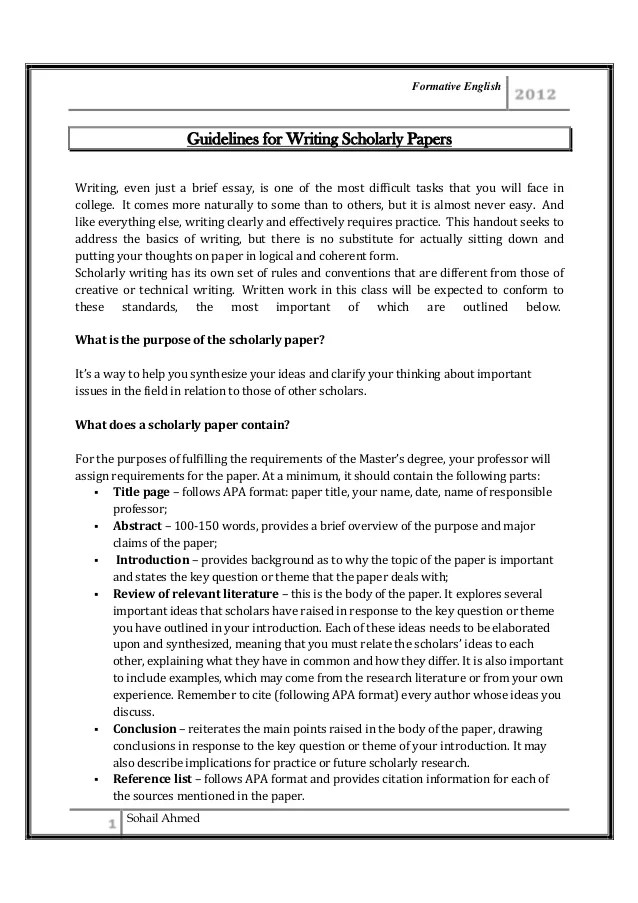 Research proposal   Guidelines to make you research paper effective ScholarShape