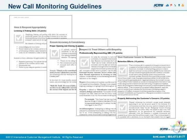 Perfect Call Monitoring Form Template Photo - Example Resume Ideas