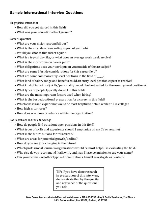 Business Analyst Interview Questions And Tips The Balance Informational Interviews