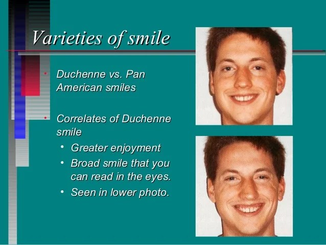 Duchenne Smile Psychology Happiness