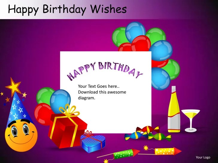 happy birthday ppt template - Towerssconstruction