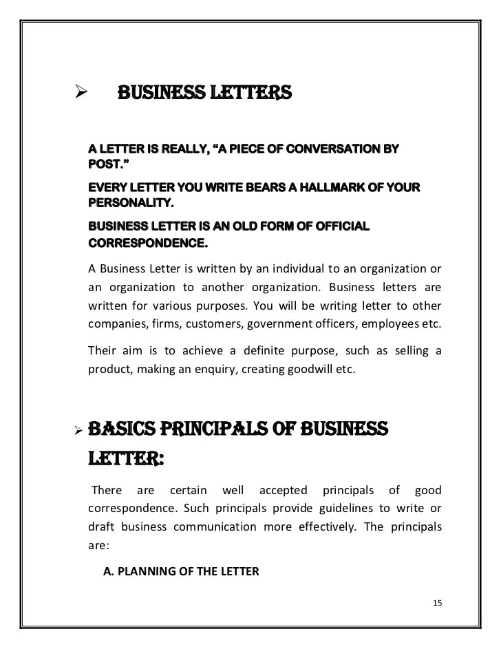 Selling Incentives Sales Letter Free Sample Letters Hardcopy Of Quot;basics Of Effective Writingquot;quot;business