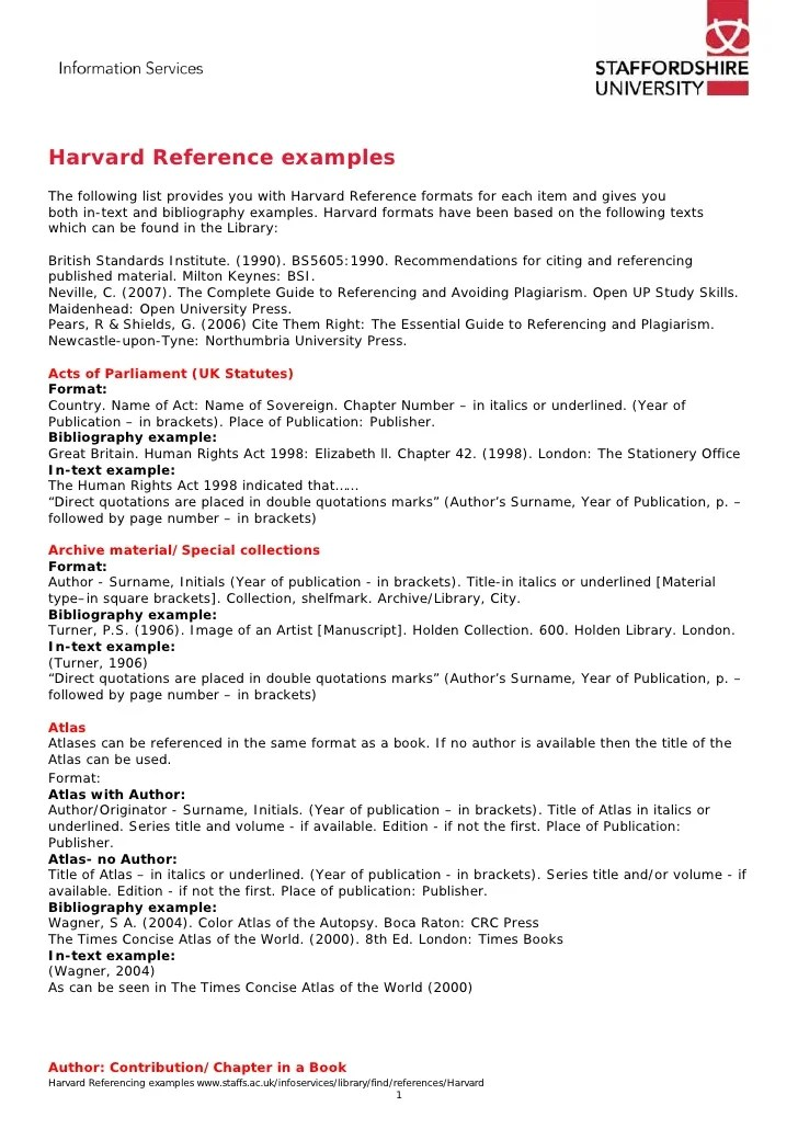 example of harvard referencing in an essay - Boatjeremyeaton - harvard style resume