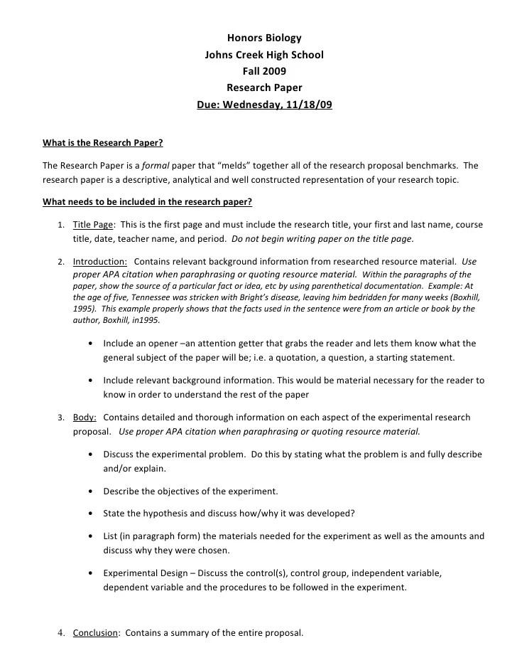 apa psychology research paper sample