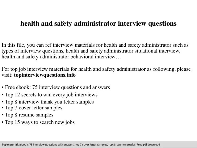 health and safety resume examples - Onwebioinnovate - safety and occupational health specialist sample resume