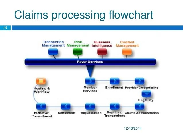 Insurance Claims Process Flow Chart Free Resume Samples